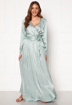 DRY LAKE Sharon Long Dress 330 Mint Green Zig Z Bubbleroom.no