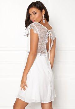 DRY LAKE Valerie Dress White Bubbleroom.no