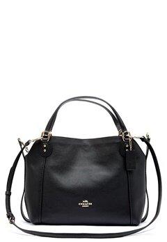 COACH Edie Leather Bag LIBLK Black Bubbleroom.no