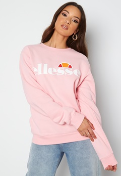 Ellesse El Agata Sweatshirt Crewneck Pink bubbleroom.no