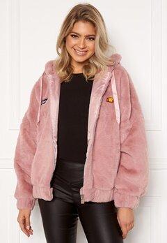 Ellesse El Giovanna Jacket Hoody Pink Bubbleroom.no