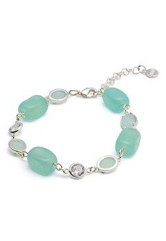 SNÖ of Sweden Emilia Mix Bracelet S/Mint Bubbleroom.no