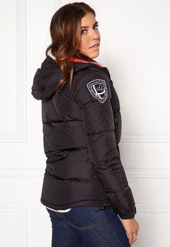 D.Brand Eskimå Jacket Black/Pink Bubbleroom.no