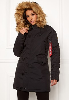 Alpha Industries Explorer Jacket Black Bubbleroom.no
