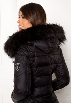 ROCKANDBLUE Faux Fur Trim Black Bubbleroom.no