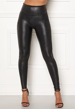 Spanx Faux Leather Leggings Black Bubbleroom.no
