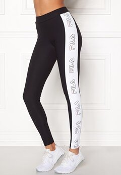 FILA Feste New Leggings Black Bubbleroom.no