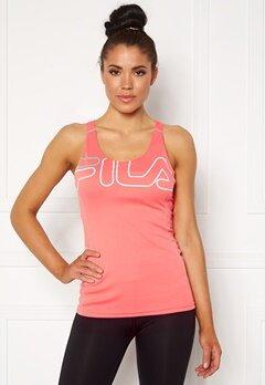 FILA Aisha Racer With Bra Shell Pink/White Bubbleroom.no