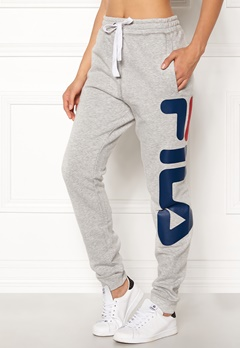 FILA Classic Basic Sweatpants Light Grey Melange Bubbleroom.no