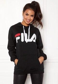 FILA Classic Logo Hood Kangaro Black Bubbleroom.no