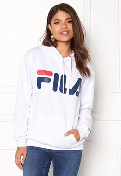 FILA Classic Logo Hood Kangaro White Bubbleroom.no