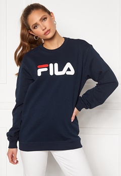 FILA Classic Pure Crew Sweat 170 Black Iris Bubbleroom.no