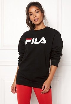 FILA Classic Pure Crew Sweat Black Bubbleroom.no