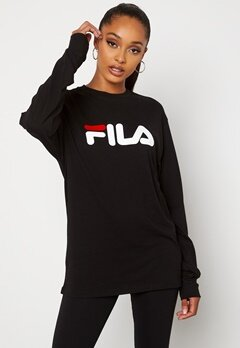 FILA Classic Pure Long Sleeve 2 Black Bubbleroom.no