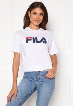 FILA Classic Pure SS Tee M67 Bright White Bubbleroom.no