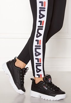FILA Disruptor Low Black Bubbleroom.no