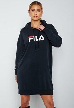 FILA Elish Hoody Dress Black bubbleroom.no