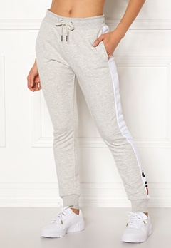 FILA Freya Sweat Slim Pant Light Grey Mel Bubbleroom.no