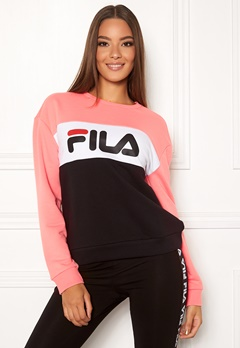 FILA Leah Crew Sweat A209 black-quarz-pin Bubbleroom.no