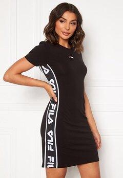 FILA Taniel Tee Dress 002 black bubbleroom.no