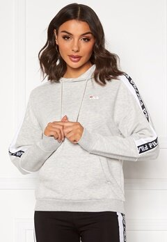 FILA Tavora Hoody A068 light grey mel Bubbleroom.no