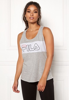 FILA Teresa Tank Top Light Grey Mel Bubbleroom.no