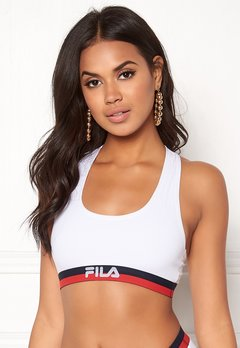FILA Woman Bra Elastic 300 White Bubbleroom.no