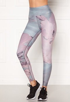 Röhnisch Flattering Esme Printed Tights Pink Floweret Bubbleroom.no