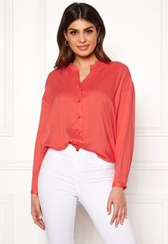 Boomerang Flora Blouse Tomato Red Bubbleroom.no