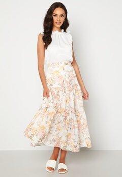 FOREVER NEW Fleur Tiered Maxi Skirt Vintage Splendor Bubbleroom.no