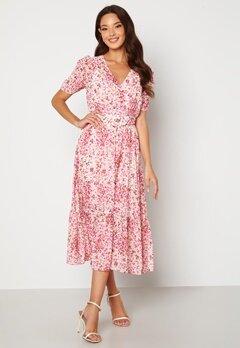 FOREVER NEW Freya Midi Dress Claret Ditsy Bubbleroom.no