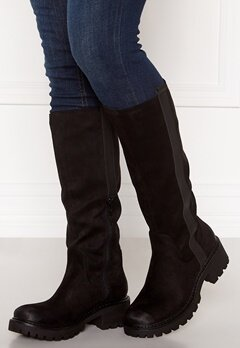 Francesco Milano Biker Boots Nero Bubbleroom.no