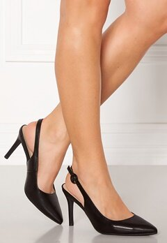 Francesco Milano Eco Pelle Pumps Nero Bubbleroom.no