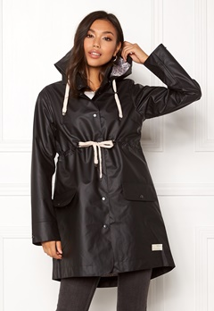 Odd Molly Free Range Rainjacket Almost Black Bubbleroom.no