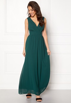 Sisters Point Gally Dress 300 Dark Green Bubbleroom.no