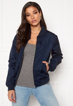 GANT Airy Nylon Bomber 433 Evening Blue Bubbleroom.no