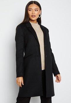 GANT Classic Tailored Coat 5 Black bubbleroom.no