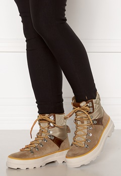 GANT Kaari Mid Lace Boot Warm Khaki Bubbleroom.no