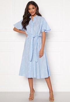 GANT Pure Prep Printed Dress 420 Hamptons Blue Bubbleroom.no
