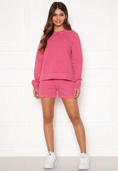 GANT Sunfaded Sweat Shorts 673 Cabaret Pink bubbleroom.no