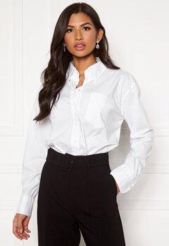GANT White Business Shirt 110 White Bubbleroom.no