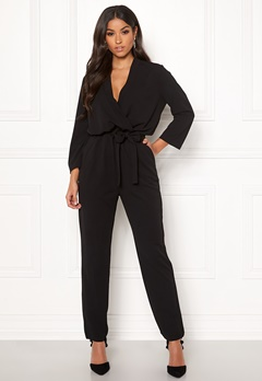 Jacqueline de Yong Geggo Treats 3/4 Jumpsuit Black Bubbleroom.no