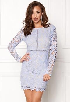 Girl In Mind Cloe Long Sleeve Crochet Lilac Bubbleroom.no
