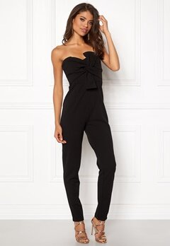 Girl In Mind Maisie Jumpsuit Blk Bubbleroom.no
