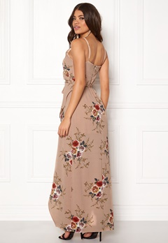 Girl In Mind Mia Floral Wrap Maxi Flower Bubbleroom.no