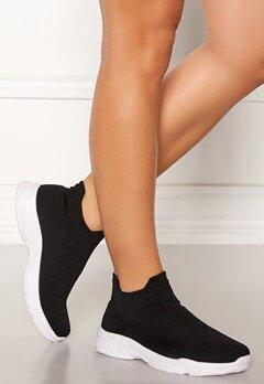 Glossy Bell Sneakers Black Bubbleroom.no