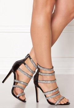 Glossy Milan High Heel Shoe Blk Bubbleroom.no