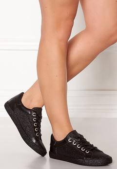 Glossy Penelope Sneaker Blk Bubbleroom.no