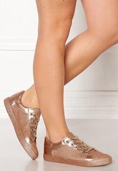 Glossy Penelope Sneaker Champagne Bubbleroom.no