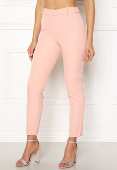 ONLY Glowing Mid Ankle Pant Cameo Rose Bubbleroom.no
